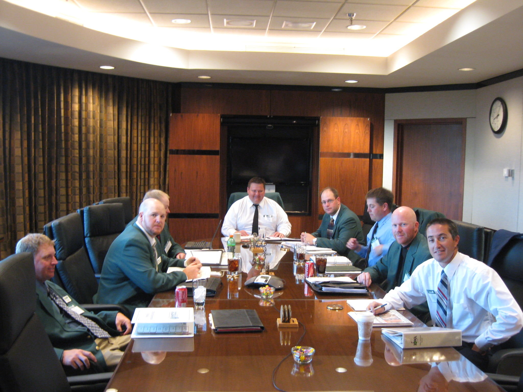 Iowa Golf Course Superintendents Association Strategic Planning session at GCSAA headquarters in Lawrence, KS