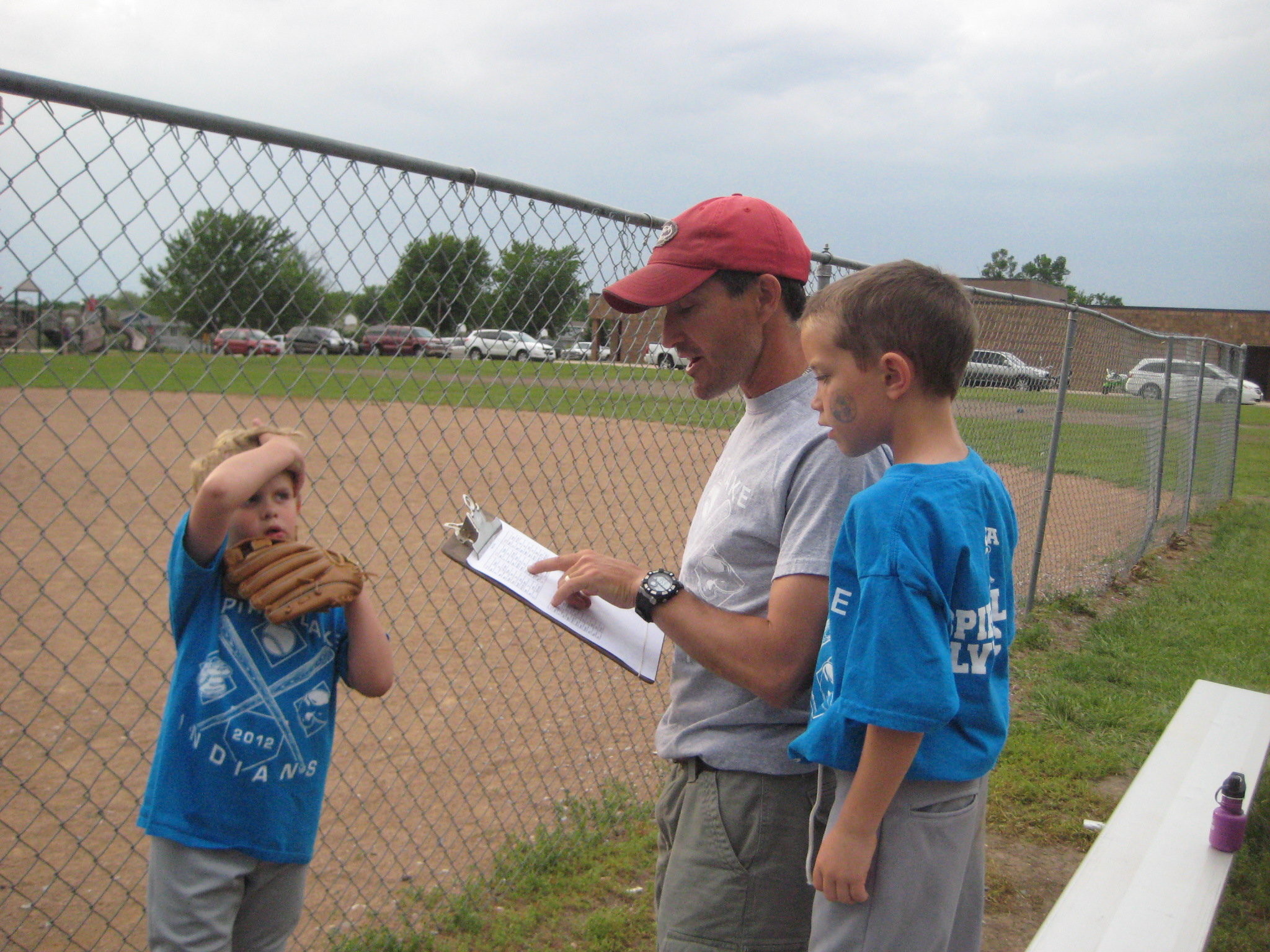 T-ball strategy!