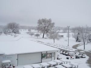 Snow April